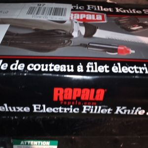 Deluxe electric fillet knife